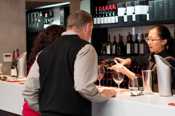 Penfolds Tasting Room with