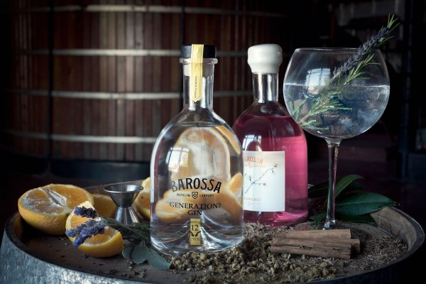 Barossa Distilling Gin On Barrel Top