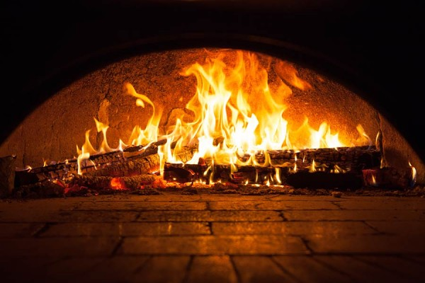 Origianl heat wood fire pizza rectangle version